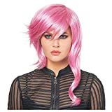 ELEGANI HalloWIG Compatible with Lavender Asymmetrical WigHalloween Costumes Costume Accessories Wigs