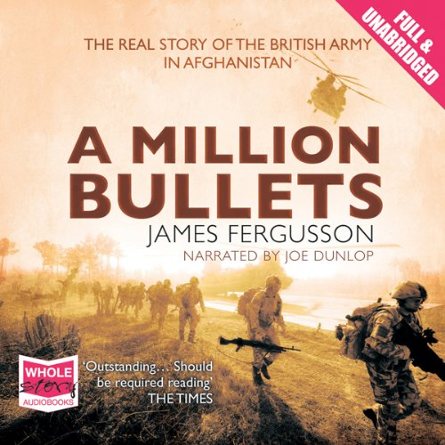 A Million Bullets audiobook cover art