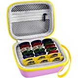 Guitar Pick Holder Case Compatible for Fender   D'Addario   ChromaCast   JIM DUNLOP   UNLP MUSICAL INSTRUMENT   Bolopick   Haneye- All Size Picks Storage Pouch Box(CASE ONLY) Red