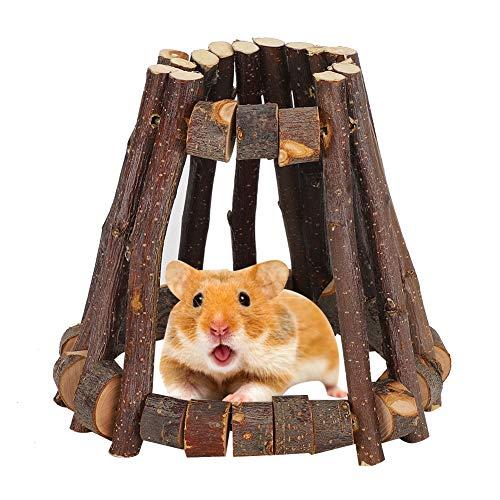 Criceto in legno naturale, per criceti, criceti, ratti e topi