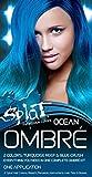Splat | Ombre Ocean | Original Complete Blue Ombre Hair Dye Kit | Semi Permanent | Vegan | 30 Wash
