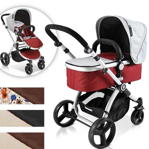 infantastic KBKW01blush Kombi-Kinderwagen, blush
