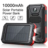Best Solar Phone Chargers - Solar Charger 10000mAh, POWOBEST Dual USB Portable Charger Review