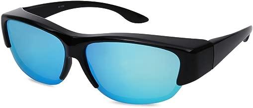 EYEGUARD Fit Over Polarized Lens Cover Sunglasses - Wear Over Prescription Glasses