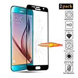 GoodcAcy[2-Pack Protector Pantalla Samsung Galaxy S6, Cristal Templado,Vidrio Templado con[9H Dureza][Alta Definicion][Garantía de por Vida] para Samsung Galaxy S6