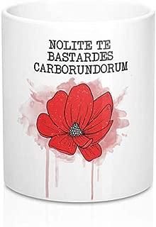 OttoRiven101 - Handmaids/Tale / Mug/Ceramic Mug/Nolite Te Bastardes Carborundorum/Feminist / Feminism/Blessed Be/Quirky Gift, 11oz Ceramic Coffee Mug/Tea Cup, High Gloss