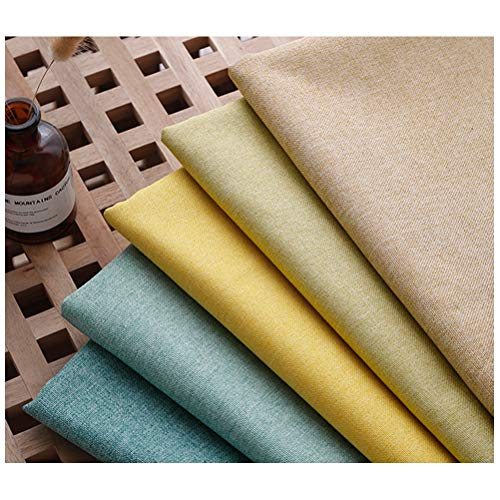 Pure Natural 100% Linen Fabric, Needlework Fabric, Thick Linen Fabric 1200D, Used for Pillows, Tablecloths, Photographic Backgrounds Linen Fabric Materials (Sold by The Meter) (Color : D4)