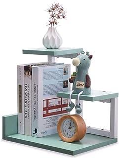 رف كتب يوضع على سطح المكتب من موباي للكتب ومنظم الرف التخزين، رف متعدد الوظائف وأثاث المكتب المنزلي