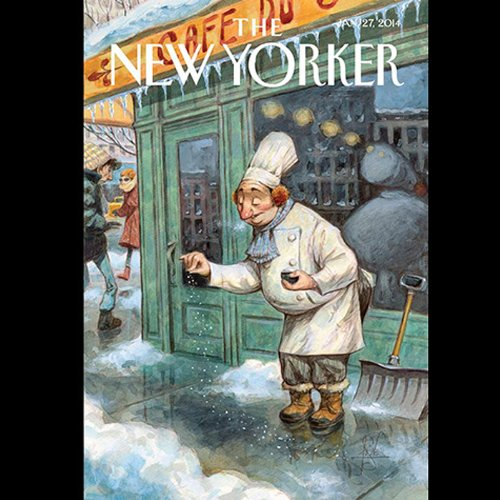 Couverture de The New Yorker, January 27th 2014 (David Remnick, Elizabeth Kolbert, Emily Nussbaum)