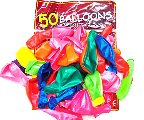 Tri-products - 50 Assortiment De Couleurs 12 Ballons En Latex Pouces