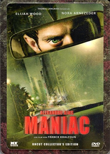 Alexandre Ajas Maniac (uncut) 3D-Holocover Ultrasteel Edition by Elijah Wood