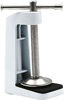 Carremark - Fijación de Manguera de Acero Inoxidable con Base Fija para lámpara de Mesa con Brazo oscilante