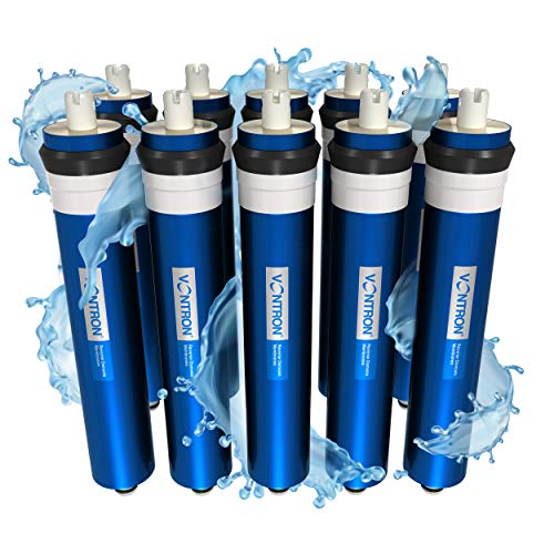 Vontron RO Membrane 50 GPD, Reverse Osmosis Water Filter Replacement Cartridge, 1.8