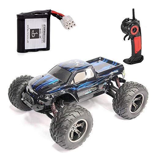 GPTOYS RC Auto Fahrzeug 1/12 Luctan Ferngesteuertes Fahrzeug 2WD 2.4 GHz Halb-wasserdicht Monstertruck Truggy ---Beste Geburtstag Geschenk für Kinder (Die Dritten Generation)