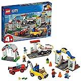 LEGO®-City Le garage central Enfant de 4 Ans et Plus, Jouet de Construction, 234 Pièces 60232