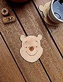 Winnie The Pooh Wood Coaster