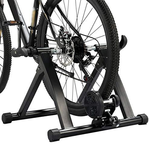 Kabalo Pliant vélo d'intérieur Turbo Entraîneur magnétique Exercice Faire du vélo Appareil de Fitness