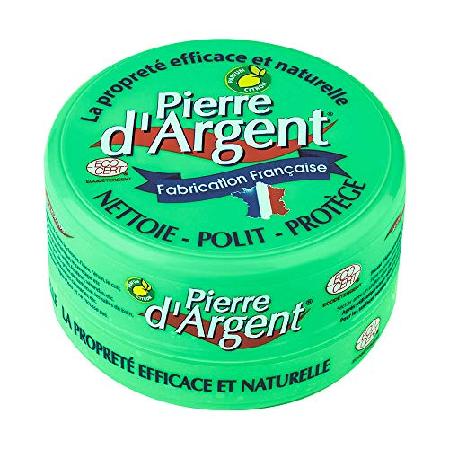 Pierre d'Argent 300g - Pierre blanche naturelle de nettoyage