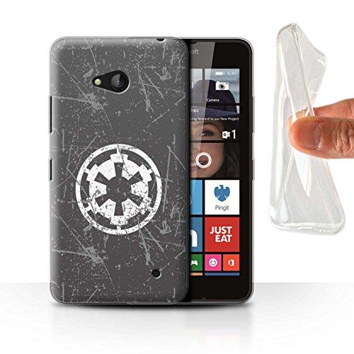 Hülle Für Microsoft Lumia 640 Galaktisches Symbol Kunst Galaktisches Imperium Inspiriert Design Transparent Dünn Weich Silikon Gel/TPU Schutz Handyhülle Case