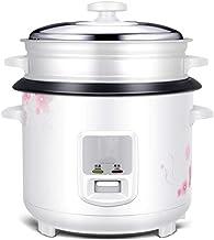 Rijstkoker huishouden ouderwetse rijstkoker pot kleine multifunctionele rijstkoker 3l4l5l6l liter (Color : White, Size : 3l)