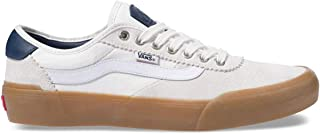 Vans Chima Pro 2 Blanc De Blanc/Classic Gum Men's Classic Skate Shoes Size 13.5