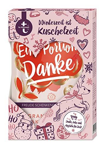 t: by tetesept Geschenkset Winterzeit ist Kuschelzeit - Bade-Salz Probierset - das ideale Präsent für jeden Anlass - 3 x Badesalz (à 60 g)