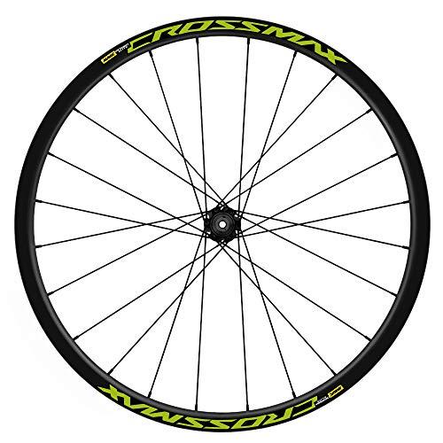 Pegatinas Llantas Bicicleta 29' Mavic Crossmax Elite TL WH19 VINILOS Ruedas Verde Lima 2