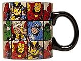 Marvel Silver Buffalo MV9134 Marvel Comics Grid Jumbo Ceramic Mug, 20 oz, Multicolor