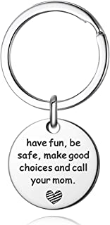 Have Fun Be Safe Keychain New Driver Key Chain Sweet 16 Teenager Gift (25m