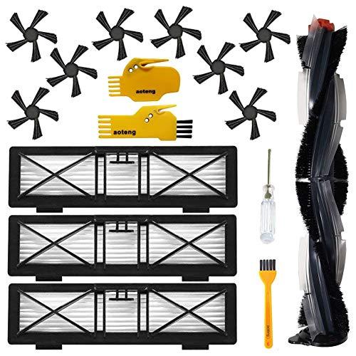 Brosses latérales et Kit d'accessoires de remplacement de filtre à haute performance pour Neato Botvac Connecté D Série D75 D80 D85 D5 D3 Brosse princ