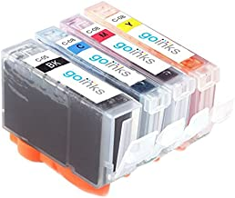 1 Go Inks Set of 4 Ink Cartridges to replace Canon PGI-5 and CLI-8 Compatible/non-OEM for PIXMA Printers (4 Pack)