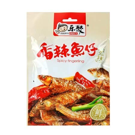 Max 65% OFF Cooked Dried Fish Snack Spicy Spasm price Packs 50 1