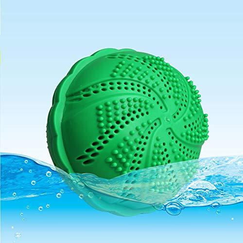 Waschball, Gadom Bio Waschmittel Waschkugel mit Natürliches Erz für Waschmaschine, Anti-Verschränkung Öko Wäscheball Waschen ohne Waschmittel für Allergiker, Kinder, Erwachsene Kleider