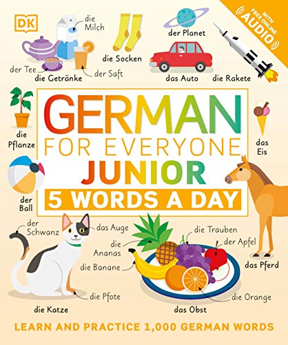 Compare Textbook Prices for German for Everyone Junior: 5 Words a Day  ISBN 9780744036800 by DK