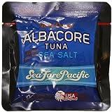 Sea Fare Pacific Wild Caught Albacore Tuna,Salt Sport Pouch, 3 Ounce (Pack of 12)