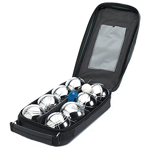 Taylor & Brown French Boules Set | 8 Piece Boules Set | Includes Chrome...