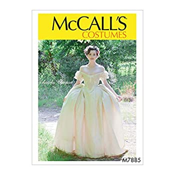 McCall s Women s Victorian Dress Costume Sewing Angela Clayton Sizes 14-22 Patterns