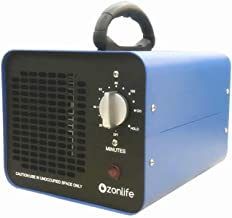 Ozonlife Commercial Ozone Generator 10,000 mg/h Industrial Air Purifier for Large Rooms