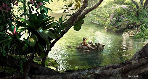 Desconocido 1000pcs Puzzle Rompecabezas para Adultos Juegos Colección de desafío de póster de película Animada de El Libro de la Selva Regalo para niño Bricolaje Brain Challenge