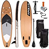Apollo Paddle Gonflable Planche Sup – Ensemble Complet - Kit Paddle...