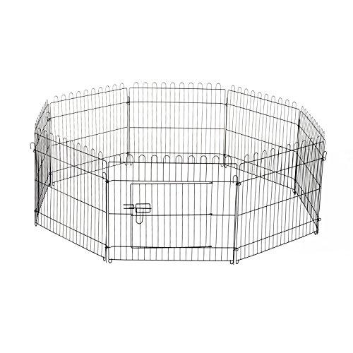 Pawhut® Welpenauslauf Welpenzaun Laufstall Freilaufgehege Welpengitter Maße: 71x61cm