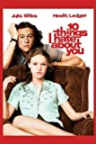 10 Things I Hate About You – Heath Ledger – Film Poster