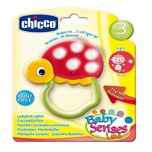 Chicco Hochet Coccinelle Lumineuse Baby Senses