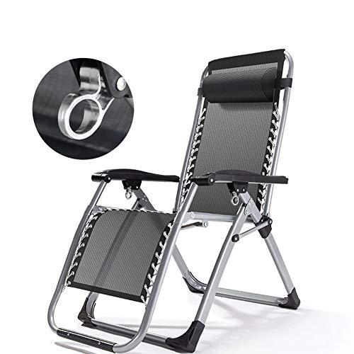 CUICI Oversize Gepolsterte Zero Gravity Stuhl,Einstellbar Lounge-Stuhl Mit Breiter Armlehne,Falten Camping Stuhl Für Outdoor Strand Pool,350lbs