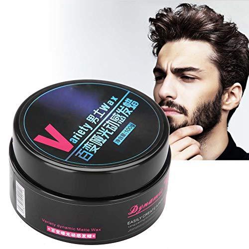 Arcilla Cera de Peinado - Crema para colorante pelo temporal - mullido duradero - para el peinado del hombre, diseño para salón profesional y uso doméstico 100 g