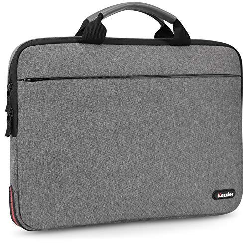 iCozzier - Custodia protettiva per computer portatile da 15 a 15,6', con protezione super angolare, impermeabile, borsa per il trasporto del computer, per MacBook Pro Air da 15', Dell HP Lenovo