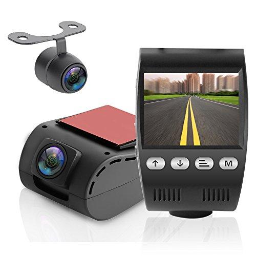 pyle dash cam rearview mirror