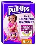 Huggies Pull-Ups Mutandine di Apprendimento per Bambina, Taglia S (8-15 kg), 29 Pezzi