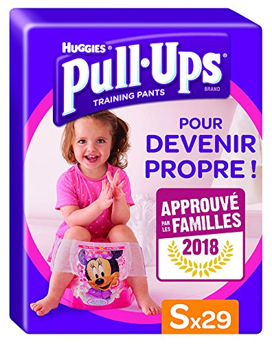 Huggies Lernwindeln, zum Hoch- und Herunterziehen, für Mädchen, Größe 4 / S, 29Windeln