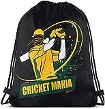 Shui Cricket Drawstring Rucksack Rucksack Umhängetaschen Sporttasche